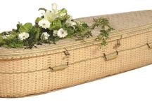 Eco-friendly Caskets / Eco-Friendly Caskets are crafted by skilled weavers as a small cottage industry, not in factories. They are created from sustainable materials such as fast-growing willow, seagrass and bamboo which don't require heavy machinery for harvesting, giving them a small carbon footprint. Casket linings are made from unbleached natural cotton. Available at http://www.thecasketstore.com