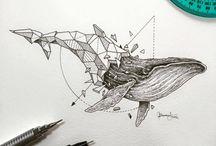 Geometric / Inked Art