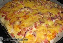 pizzák és társaik