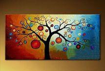 alberi quadro