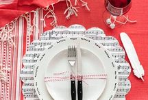 music theme table