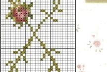 Cross stitch - Flora