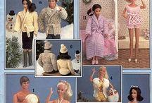 Barbie doll patterns