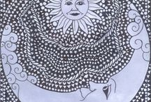 SUNS/moon / by Alice Morse