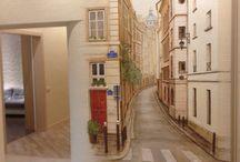 Murals for bedroom