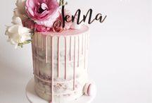 Semi Naked Drippy Wedding and Birthday Cakes