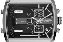 Diesel Fleet orologi / Diesel Fleet orologi,Orologio Diesel Fleet Nero/Grigio/Antracite Acciaio.