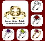 Design Jewelry Online / Our new Chimera Showcase allows you the fun and freedom to design jewelry online - anytime 24/7/365. Hundreds of options on hundreds of styles means you have THOUSANDS of possibilities.