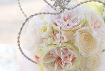 アーティフィシャルフラワー*ウェディングブーケ Wedding bouquet*Artificial flowers