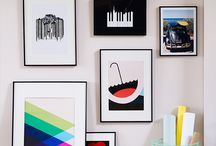 Gallery wall / Hanging pictures