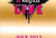 Key 103 Live and Macadamia / Macadamia at the Manchester Arena with some celebrities 28/7/13 - a fabulous event.