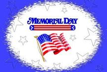 Memorial Day Preschool Theme / A Memorial Day Preschool Theme with activities to remember this day.