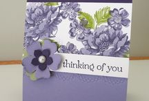Stippled Blossoms Stampin' Up! Stamp Set Greeting Cards