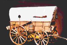 charriot de western