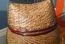 Nautical Decor - Baskets / Carry and store your towels, hats, sun lotion, and valuables for the beach or boat!