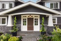 Roslyn Residence / To create a bright and open custom home, incorporating both traditional and more contemporary elements in a transitional style.