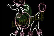 Paw Mascot Rhinestone Designs / Paw Mascot Rhinestone Designs