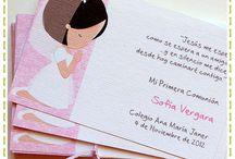 tarjetas primera comunion
