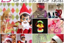 Elf on the Shelf / It's that time of the year again! Introduce the elf on the shelf! I am always looking for new ideas for our little elf. From funny to sweet, mischief, creative, hilarious, crazy and more! Toddlers to teens, everyone in the family will be sure to enjoy this holiday season!