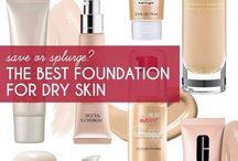 dry skin foundi