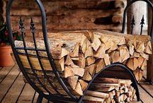 Suport pentru lemne de foc