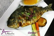 Akasha Restaurant / Our restaurant is where you can enjoy a premier dining experience in a relaxed yet elegant setting