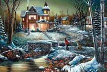 Art: Landscapes - Winter Scenes