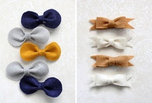 A Bow From LO - hair clip sewing ideas