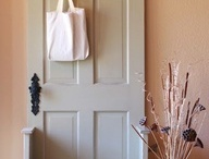 Kreative ideer til boligen / Hvad kan man ellers bruge døre til