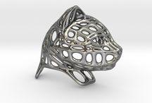 Voronoi Artwork - PersonalisedPresents3D / Voronoi art work created with the 3D app Fluid Designer for 3D Printing (http://www.fluiddesigner.co.uk). The work can be found @ http://www.personalisedpresents3d.co.uk/shop/.