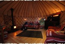 Glamping / All the fun of camping with none of the discomfort.  What's not to love?