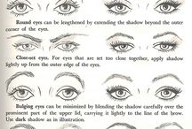 Heavy-lidded eye make-up