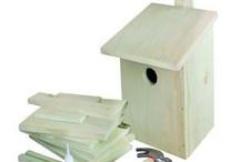 Vogelhuisjes / Bird houses / Vogelhuisjes / Bird houses