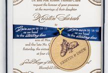 Themed Wedding Invitations / themed wedding invitations and inspirations / by Gourmet Invitations