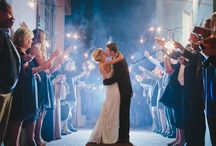Sparkler Exits! / St Augustine Wedding Sparkler Exit Photos, Florida Wedding Venue