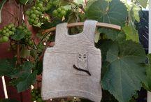 My hand knits / Knitting