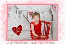 My Valentine's Day Mini Sessions!