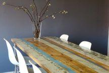 tafel van steigerhout