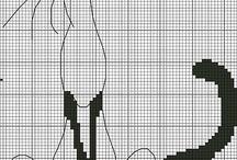 krzyżyki / haft krzyrzykowy