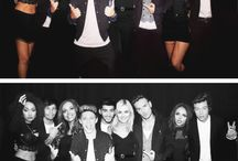 little mix and one direction!!