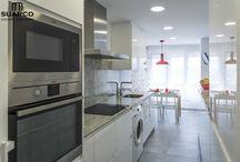 Cocinas Blancas. Suarco / Tienda y fábrica de cocinas en Santander y Cantabria
