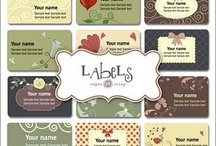 Printable Labels, Art , Ect / by Mama D
