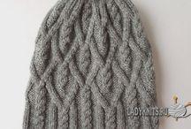 шапки для взрослых спицами