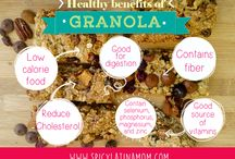 Infographics / Infographics about healthy food and lifestyle