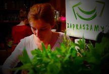 Laka Cafe / Łąka Cafe / Kinoteatr Wrzos / Przemalowanie - Kraków, Zamoyskiego 50