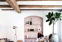 Boho Homes / Rich, layered fabrics, mismatched decor and a variety of patterns