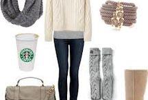 winter fashion❄⛄☔