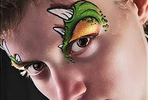 FP - MONSTERS & DRAGONS / Face painting