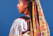 Europe-Traditional Headdress