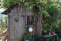 cabanes de jardin, décos et autres pour le jardin